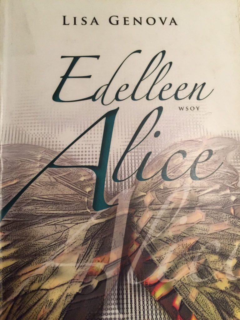 Edelleen Alice -kirjan kansi