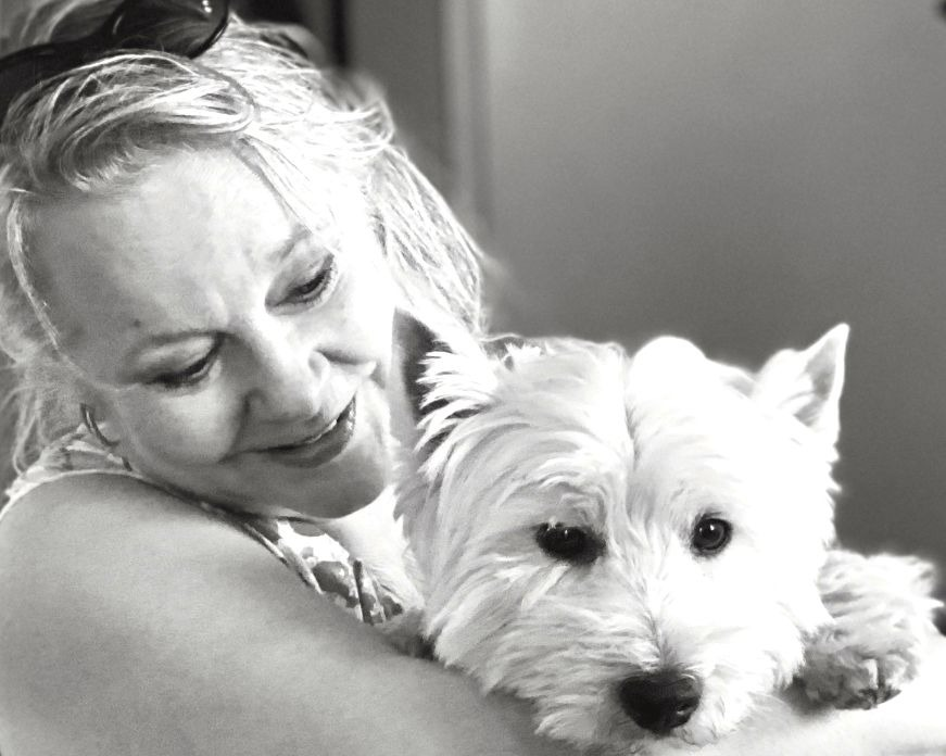 Iina ja Leo-koira